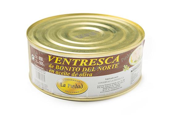 VENTRESCA DE BONITO BURDEOS LA PIEDAD LATA