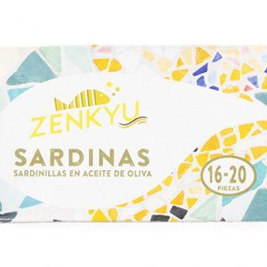 SARDINILLA ACEITE OLIVA ZENKYU 16/20 PIEZAS