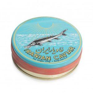 Caviar Beluga esturión Irani (2,6 +/-2,8) 50-125GR